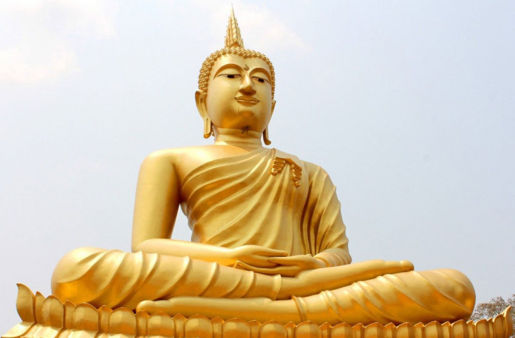 Buddhism.. The half a billion followers religion (beliefs, ideas, and festivals)